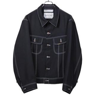 DAIRIKU 20ss regular polyester jacket