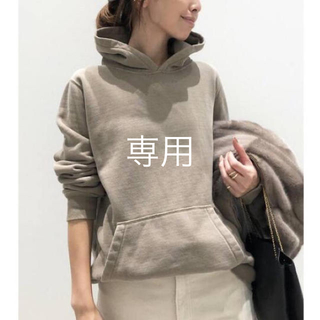 L'Appartement DEUXIEME CLASSE - アパルトモン REMI RELIEF/レミレリーフSweat Parka