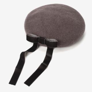 マジェスティックレゴン(MAJESTIC LEGON)のバックリボンベレー帽(ハンチング/ベレー帽)