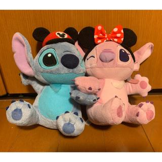 Disney - スティッチ&エンジェル ペアぬいぐるみ