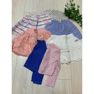 babyGAP - カーディガン&キュロット&スカート6点セット size 90