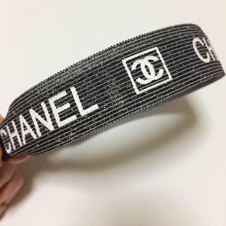 CHANEL - 新品 シャネル カチューシャ ラメグラデーション