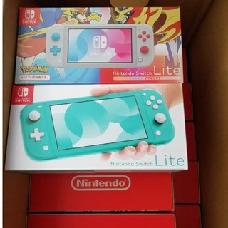 ニンテンドースイッチ(Nintendo Switch)の【新品未開封】任天堂 Nintendo Switch lite 10台(家庭用ゲーム機本体)