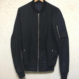 リックオウエンス(Rick Owens)のrick owens flight bomber jacket(フライトジャケット)