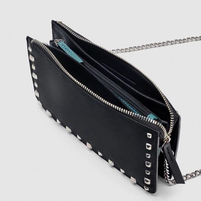 ZARA(ザラ)のZARA チェーンショルダー レディースのバッグ(ショルダーバッグ)の商品写真
