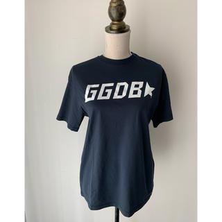 ゴールデングース(GOLDEN GOOSE)のゴールデングース ネイビーロゴTシャツ ひろちゃん様(Tシャツ(半袖/袖なし))