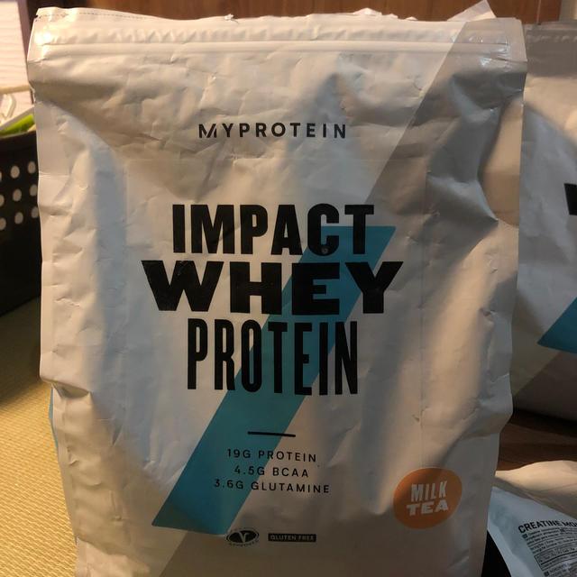MYPROTEIN(マイプロテイン)のマイプロテイン ミルクティー味 2.5kg 食品/飲料/酒の健康食品(プロテイン)の商品写真