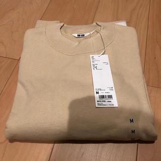 UNIQLO - ユニクロ ユニクロユー スウェット クルーネックシャツ クルーネック 長袖 完売
