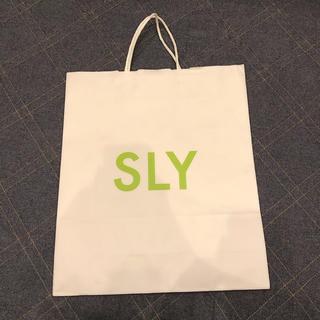 スライ(SLY)のSLY🍓ショッパー🍓(ショップ袋)