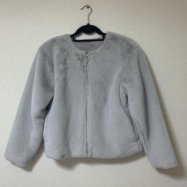 GU(ジーユー)のGU ファーモコモコアウター レディースのジャケット/アウター(毛皮/ファーコート)の商品写真