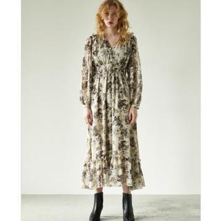 マウジー(moussy)のPAISLEY PATTERN ドレス(ロングワンピース/マキシワンピース)