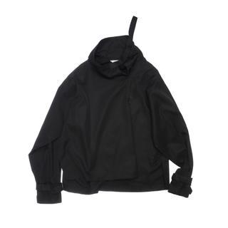 ジエダ(Jieda)のJieDa HIGH NECK PULL OVER BLACK 2(Tシャツ/カットソー(七分/長袖))