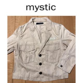 ミスティック(mystic)の★mystic 薄手ジャケット 七分袖★(ミリタリージャケット)