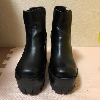 EMODA - エモダ EMODA ブーツ 22.5 厚底ショートブーツ