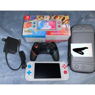 ニンテンドースイッチ(Nintendo Switch)のスピード発送 Nintendo Switch Lite ザシアン・ザマゼンタ(携帯用ゲーム機本体)