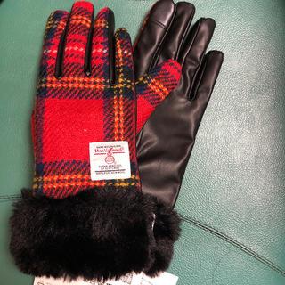 ハリスツイード(Harris Tweed)の【冬物】新品ハリスツイード×しまむら女性用てぶくろ(手袋)