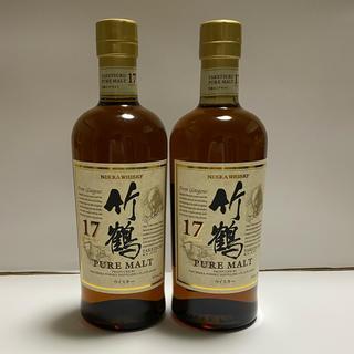 ニッカウヰスキー - ニッカウイスキー 竹鶴17年700ml×2本