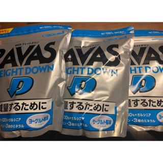 SAVAS - ザバス ウエイトダウン プロテイン ヨーグルト味 1050×3