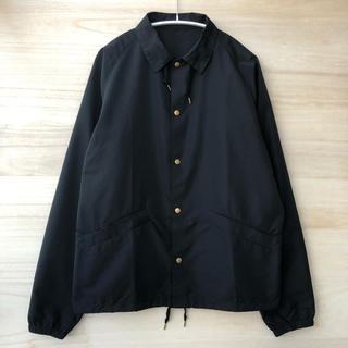 kolor - 18ss Kolor コーチジャケット ブラック サイズ3