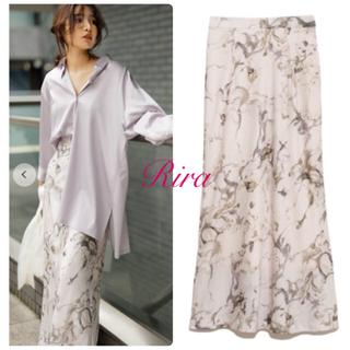 FRAY I.D - 正規品🌷新作新品🍀フレイアイディー ナローマキシサテンスカート Sサイズ