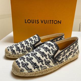 ルイヴィトン(LOUIS VUITTON)の新品ルイヴィトン エスパドリーユ27cm(スリッポン/モカシン)