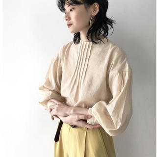 TODAYFUL - TODAYFUL トゥデイフル Pintuck Dry Blouse シャツ