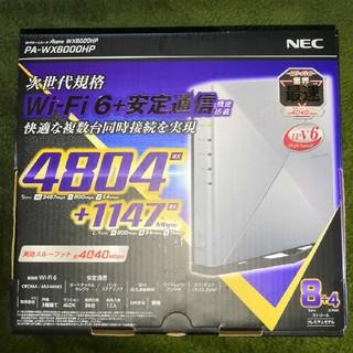 エヌイーシー(NEC)の新品 NEC Aterm WX6000HP PA-WX6000HP  (PC周辺機器)