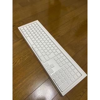 アップル(Apple)のApple magic keyboard テンキー付 の販売です。(PC周辺機器)