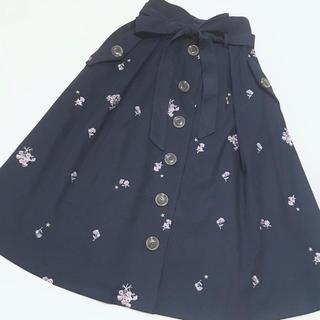 リズリサ(LIZ LISA)のLIZ LISA♡お花刺繍スカート(ロングスカート)