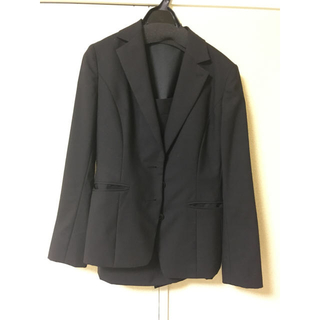パーソンズ(PERSON'S)の就活 スーツ ジャケット 黒 レディース (スーツ)