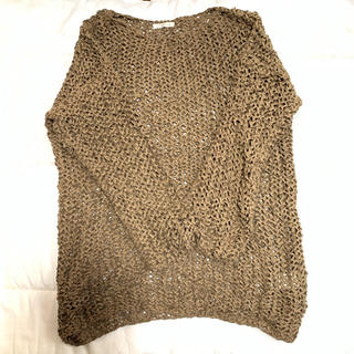 Plage - plage かぎ編みプルオーバー