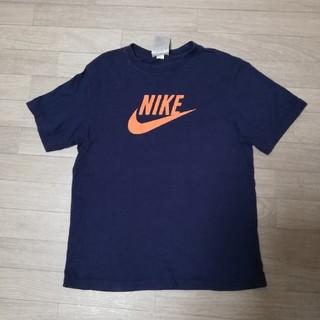 NIKE - NIKE  ナイキ  Tシャツ キッズ 140 ネイビー 古着