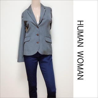 HUMAN WOMAN - HUMAN WOMAN テーラードジャケット♡自由区 23区 VIS ZARA