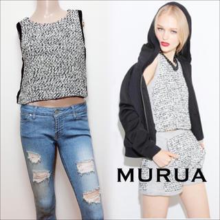 MURUA - MURUA ツイード トップス♡ジーナシス エモダ マウジー エゴイスト ザラ
