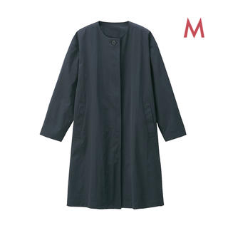 MUJI (無印良品) - 無印良品   撥水ノ-カラーコ-ト 婦人・M ダ-クグレー