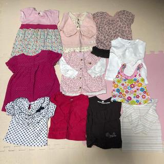 女の子 子供服 トップス サイズ80 まとめ売り11点
