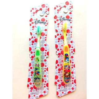 Disney - 新品♥ディズニー 歯ブラシ2本セット カーズ トイストーリー キッズ 子供