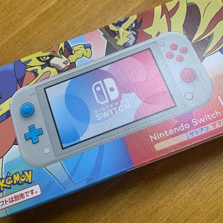ニンテンドースイッチ(Nintendo Switch)のNintendo Switch Lite ザシアン・ザマゼンタ スイッチライト(家庭用ゲーム機本体)