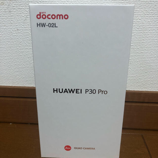 ANDROID - HUAWEI P30 Pro HW-02L ブラック