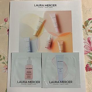 ローラメルシエ(laura mercier)のLAURA MERCIER  ピュアキャンバスプライマー サンプル品 2種(サンプル/トライアルキット)