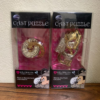 Disney - 新品未使用 キャストパズル ディズニー 2個セット