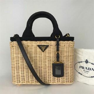 PRADA - 完売 PRADA プラダ カゴバッグ 美品