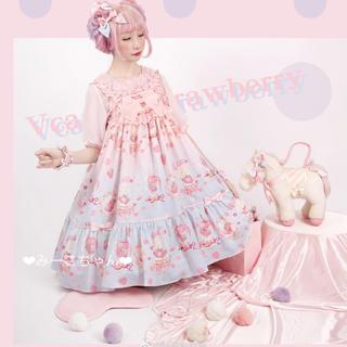 Angelic Pretty - Strawberry Doll JSKフルセット  甘ロリ しゅくれどーる