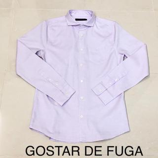 フーガ(FUGA)の GOSTAR DE FUGA ゴスタールジフーガ   シャツ 長袖 パープル(シャツ)