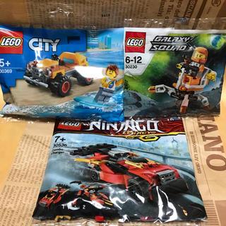 Lego - レゴ  ニンジャゴー ギャラクシースカッド レゴシティ ポリバッグ 3個