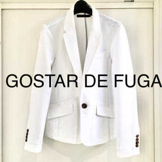 FUGA -  GOSTAR DE FUGA ゴスタールジフーガ   ジャケット ホワイト