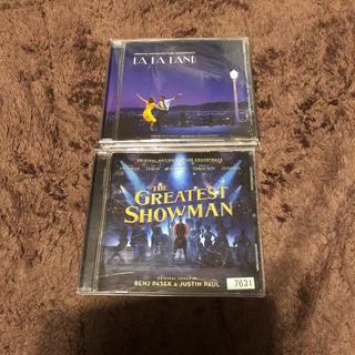 ララランド グレーティストショーマン CDセット(映画音楽)
