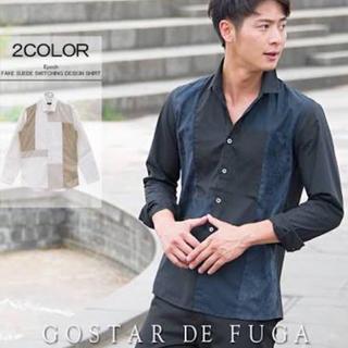 フーガ(FUGA)の GOSTAR DE FUGA  ゴスタールジフーガ   シャツ 長袖 ネイビー(シャツ)