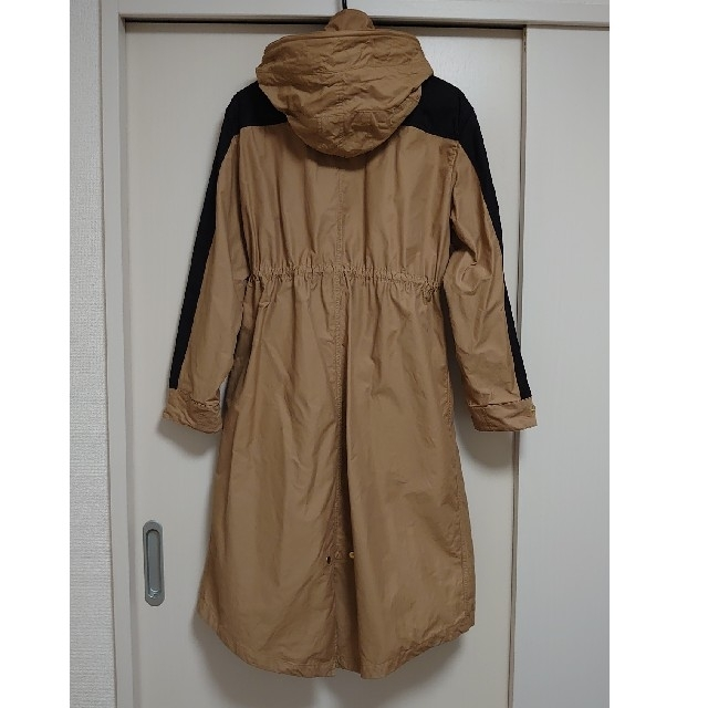 BARNYARDSTORM(バンヤードストーム)のバンヤードストーム2020春アウター!:配色ロングコート レディースのジャケット/アウター(ロングコート)の商品写真
