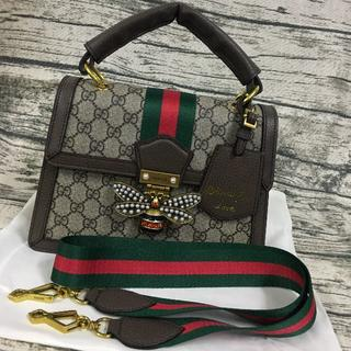 Gucci - GUCCI queen Margaret ショルダーバッグ